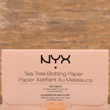 NYX Face Blotting Paper - Tea Tree
