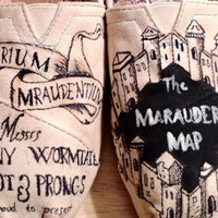 Harry Potter Marauders Map Toms
