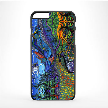 Psychedelic Nature Artwork Iphone 6 Plus | 6s Plus Case