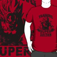 Training to go super saiyan - Dragon Ball Z by maviler