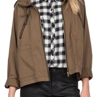 Volcom 'Good Side' Hooded Jacket | Nordstrom