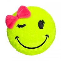 Smiley Face Pillow | Sleeping Bags & Pillows | Room Decor | Shop Justice