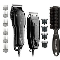 Andis Stylist Combo-Powerful High-speed adjustable clipper T-blade & T-Outliner