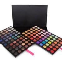 Coastal Scents 120 Eye Shadow Palette Three