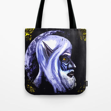 The old elf Tote Bag by Moonlit Emporium