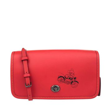COACH MICKEY Crossbody in Glove Calf Leather