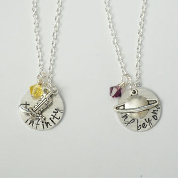 Disney Pixar's Toy Story Inspired Best Friend Necklace Set