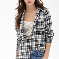 Micro-Plaid Shirt
