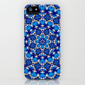 Abstract Mandala Pattern iPhone Case by tmarchev