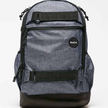 RVCA Push Skate II School Backpack - Mens Backpacks - Black - NOSZ