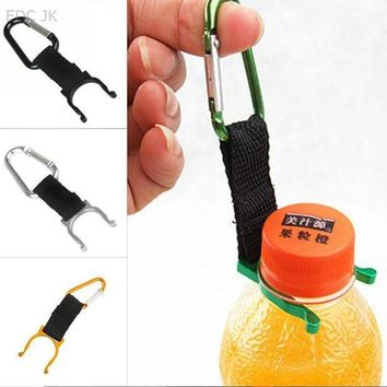 DCCK7N3 Keychain Safety Buckle Camping Carabiner Water Bottle Buckle Hook Holder Clip For Camping Hiking survival Traveling Tools Hooks