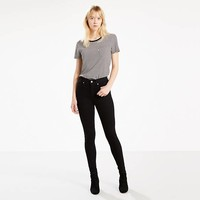 Mile High Super Skinny Fit Jeans - Black | Levi's® GB