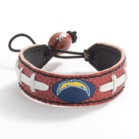 San Diego Chargers Leather Bracelet