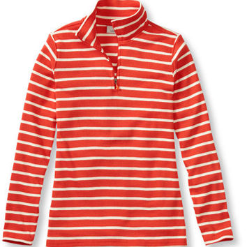 French Sailor's Shirt, Quarter-Zip Pullover: Tees and Knit Tops | Free Shipping at L.L.Bean