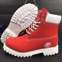 Timberland Fashion Winter Waterproof Boots Martin Leather Boots Shoes-2