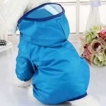 Waterproof Dog Rain Coat