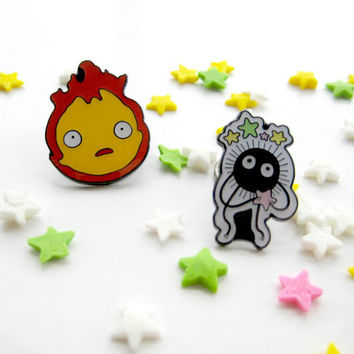 Studio Ghibli  Pin Calcifer Pin