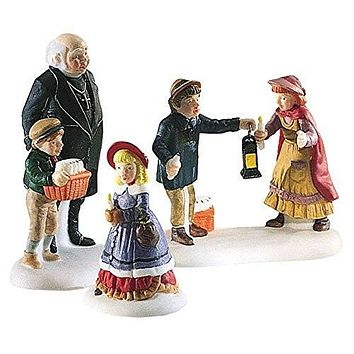 "Dept. 56 Heritage Village Collection ""A Peaceful Glow On Christmas Eve"""