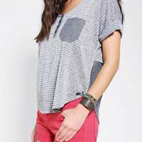Urban Outfitters - BDG Chambray Shirttail Tee