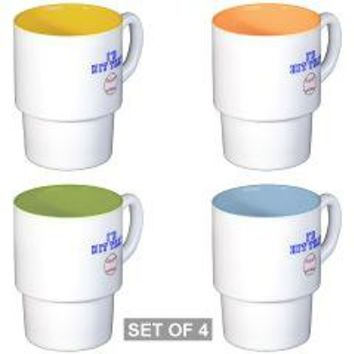 Stackable Mug Set (4 mugs)> ORIGINAL HIPSTER