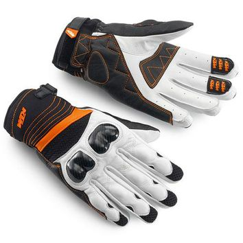 NEW  RADICAL X GLOVES 14  motorcycle  leather mesh  summer breathable glove