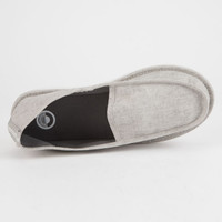 CORDS Draper Deconstructed Grey Mens Slippers