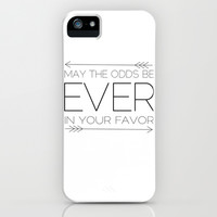 May the Odds Be Ever in Your Favor - THG iPhone & iPod Case by Lauren Ward