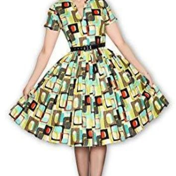 Drive In Dress in Go Retro