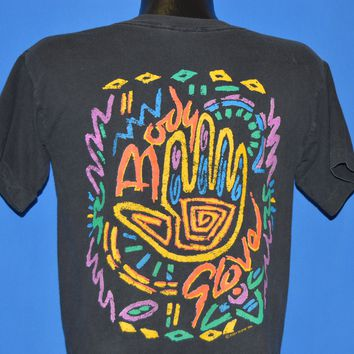 90s Body Glove Neon Surf All Over Print t-shirt Medium