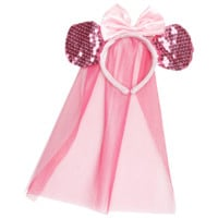 Disney Pink Sequin Minnie Mouse Headband
