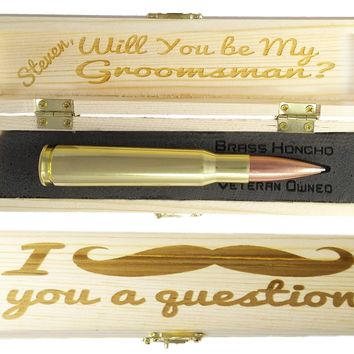 Groomsmen Proposal Gift | Groomsman Gift Box and Pen