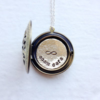 "Custom Sister Gift - Anam Cara Locket - ""Soul Friend"" Locket"