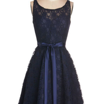 Simply Divine Dress in Navy