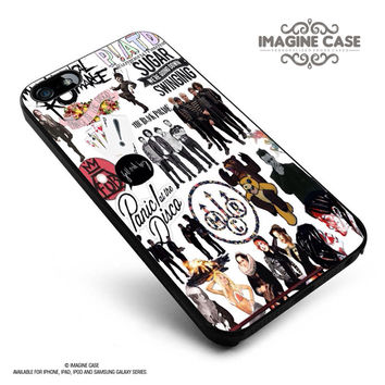 Fall Out Boy My Chemical Romance Panic At the Disco case cover for iphone, ipod, ipad and galaxy series