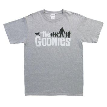 OFFICIAL The Goonies - Movie Logo T-shirt NEW LICENSED Merch ALL SIZES Mens t Shirts Short Sleeve Trend Clothing top tee