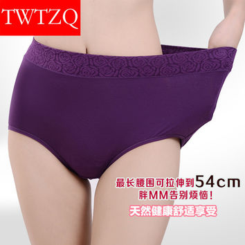 New Hot Solid Color Lace Jacquard Seamless Underwear Women Sexy Plus Size Briefs Cotton Comfortable Women Panties 4NK041