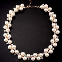 Jewelry New Arrival Gift Shiny Stylish Pearls Necklace [6586323335]