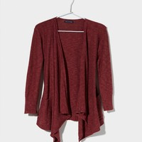 AE Solid Open Cardigan | American Eagle Outfitters