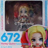 Nendoroid #672 Harley Quinn Suicide Edition Suicide Squad GSC AUTHENTIC IN STOCK