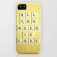 All You Need is Love iPhone Case by Happeemonkee | Society6