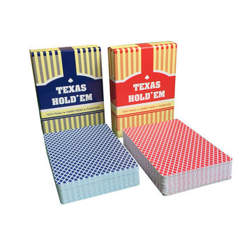 2 Sets/Lot Classic porker card set Texas poker cards Plastic playing cards Waaterproof pokerstars zakka Board games 63*88mm