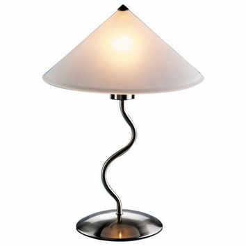 Doe Li Touch Lamp Brushed Satin Finish by Lumisource