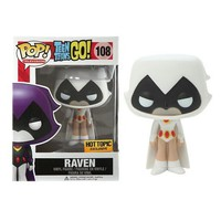 REPLACEMENT - FUNKO POP! TELEVISION RAVEN (WHITE) (HOT TOPIC)