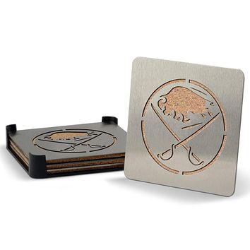 Buffalo Sabres 4-piece Boaster Drink Coaster