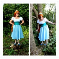 The tiny Thumbelina cosplay costume thumbelina cosplay dress halloween women costume
