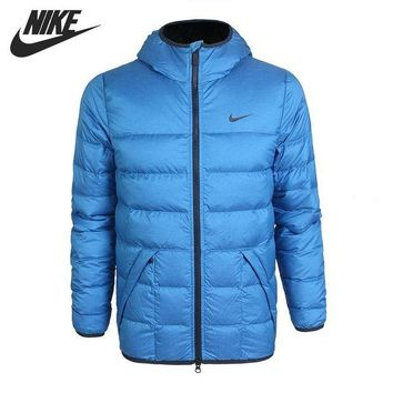 LMFON Original NIKE ALNCE 550 JKT HD LT men's down jacket Hiking Down sportswear