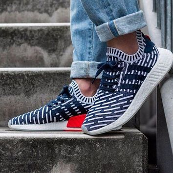 Adidas NMD R2 Woman Men Fashion Sneakers Sport Shoes