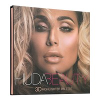 HUDA 3D Highlighter Palette-Gold
