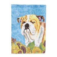 Bulldog English Flag Garden Size