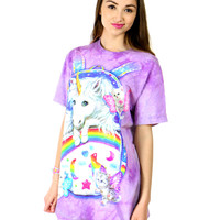 UNICORN BACKPACK TEE